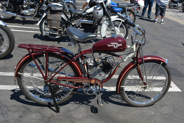 Jeff Haskell of Costa Mesa 1948 Whizzer