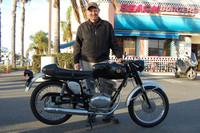 John Blaty and his 1969 Sears (Gilera) SR124