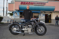 Marcus Davin and his 1938 BMW R12