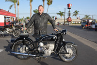 Joshua Sult with his 1966 BMW R60/2