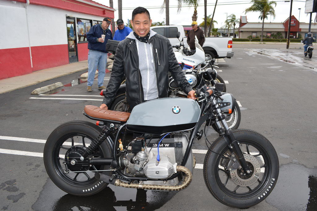 Rod Maralit with his 1984 BMW R65LS