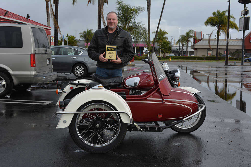 Dave Palmer and his 1972 Moto Guzzi Eldorado 850