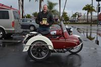 Dave Palmer of Huntington Beach 1972 Moto Guzzi Eldorado 850
