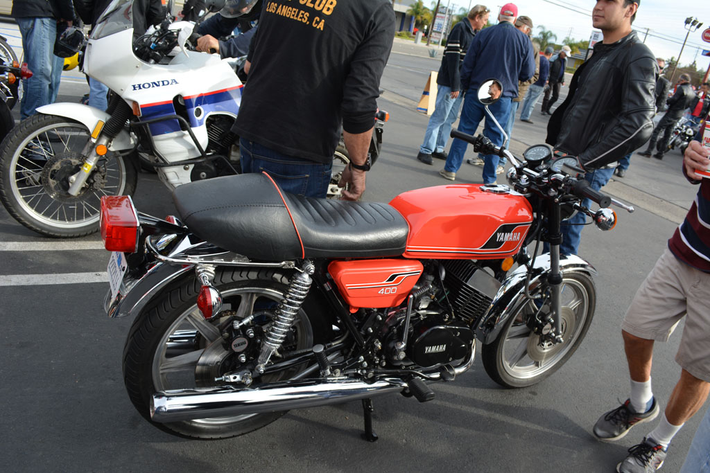 Ernesto Quirogo's 1977 Yamaha RD400