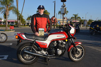 Mark Compton and his 1983 Honda CB1100F