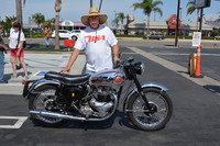Tom Stowers with his 1958 BSA A10