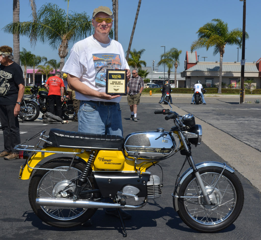 Robert and his 1975 Kreidler RS Florett