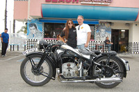 Mike Dunn and his 1937 Zundapp KS500