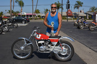 Kenny Easton and his 1971 Bultaco Sherpa T Model 49