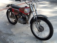 1971 Bultaco Sherpa T Model 49 before restoration