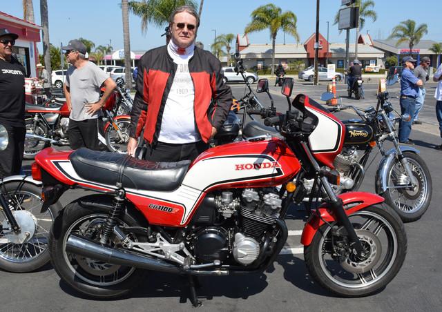 Mark Compton and his 1983 Honda CB1100F