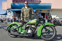 Mike Dunn and his 1939 Indian Sport Scout