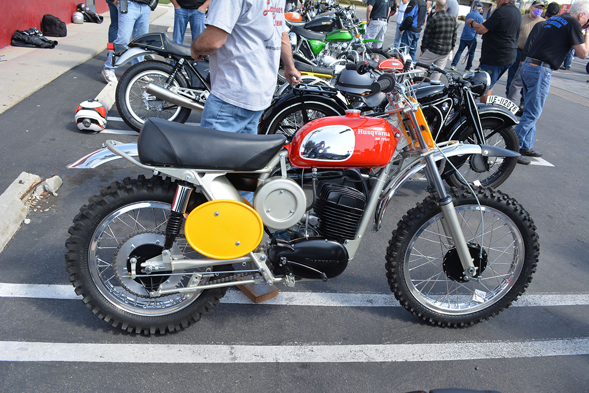 1970 Husqvarna 360 Cross 8 speed