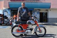 Ray Anderson and his 1963 Yamaha YG1