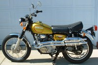 Al Schneider's 1973 Honda CL350 with 8,465 miles February 2011