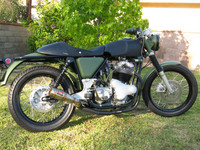 1972 Norton Commando Roadster in Combat trim, Chuck Horton