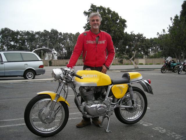 Ernesto Quiroga 1972 Ducati Desmo 450