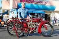 Bill Harris and his 1917 Indian Powerplus 1000