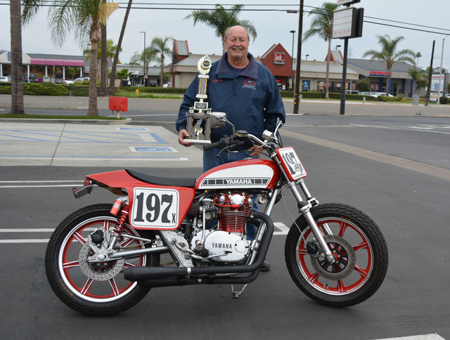 Mike Fritz and his 1979 Yamaha XS650 Special