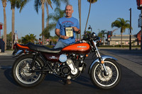 Ken Deagle of Huntington Beach 1980 Kawasaki KZ1000 Turbo