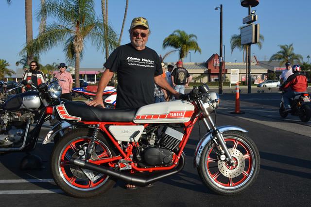 Ron Callaway of Yorba Linda 1978 Yamaha RD400