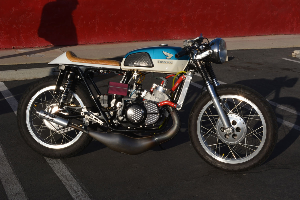Honda CL350 with Banshee engine