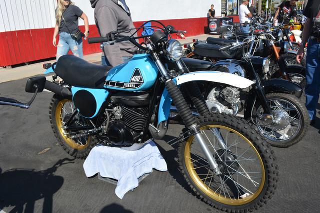 Eric Lane of Chino 1976 Yamaha IT400C