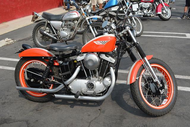 1972 Harley Davidson XLCH, Tim Horton, Long Beach