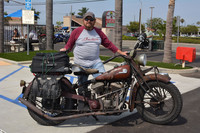 Oran Bloodsworth and his 1944 Indian Chief