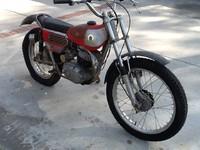1971 Bultaco Sherpa T Model 49 before restoration