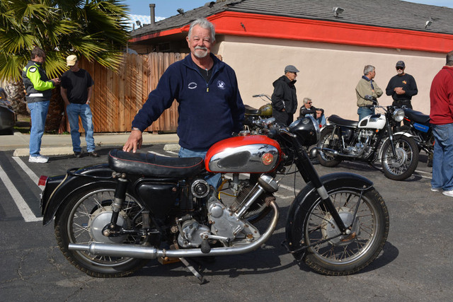Norm Cain with his 1962 Panther M120